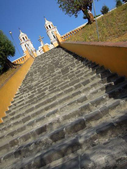 Cholula Stairs