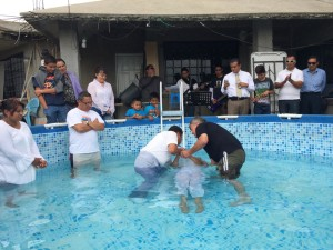 Baptisms for Jesús María