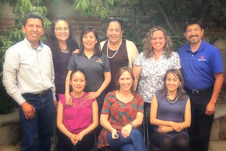 The Obrero Fiel Team at the 2019 Mexico Conference