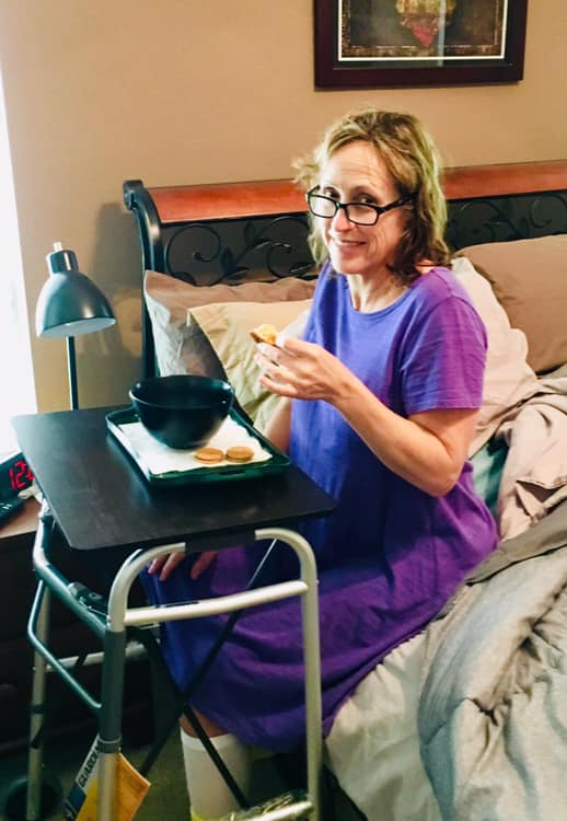 Home after surgery