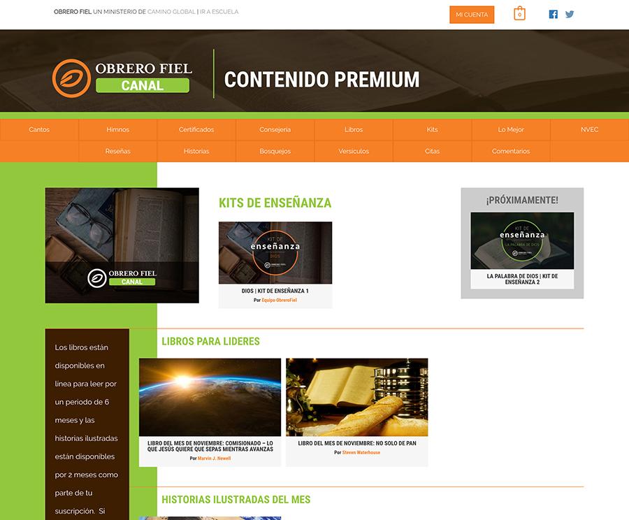 Obrero Fiel Premium Content